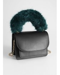 & Other Stories - Faux Fur Handle Mini Bag - Lyst