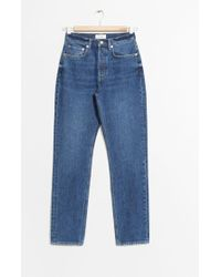 & Other Stories - Tapered Leg Denim Jeans - Lyst