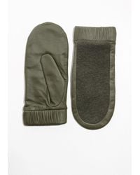 & Other Stories - Leather Mittens - Lyst
