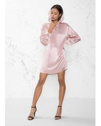 & Other Stories - Hoodie Dress - Lyst