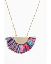 & Other Stories - Fringe Pendant Necklace - Lyst