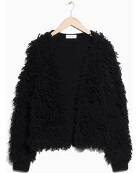 & Other Stories | Shaggy Wool-blend Knit | Lyst
