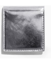 & Other Stories - Silver Leather Hand Mirror - Lyst