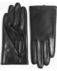 & Other Stories - Stitched Leather Gloves - Lyst