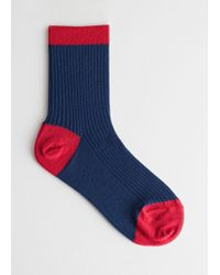 & Other Stories - Silk Blend Socks - Lyst