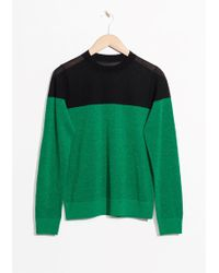 & Other Stories - Colour Block Jumper - Lyst