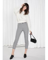 & Other Stories | Gingham Trousers | Lyst