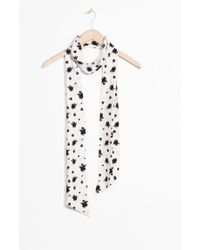 & Other Stories - Floral Neck Scarf - Lyst