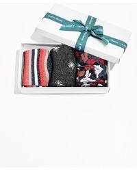 & Other Stories | Festive Print Metallic Socks Gift Box | Lyst
