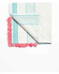 & Other Stories - Tassel And Embroidery Scarf - Lyst
