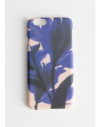 & Other Stories - Tropical Flower Iphone Case - Lyst