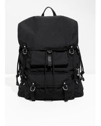 & Other Stories - Strappy Backpack - Lyst