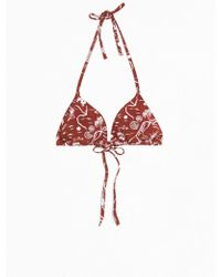 & Other Stories - Soft Triangle Bikini Top - Lyst