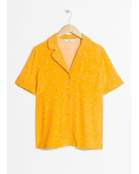 & Other Stories - Tropical Flower Button Down - Lyst