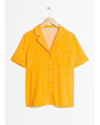 & Other Stories - Tropical Flower Button Up - Lyst