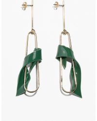 & Other Stories - Twisted Resin Hanging Earrings - Lyst