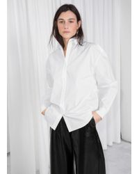 & Other Stories - Oversized Crisp Button Up - Lyst
