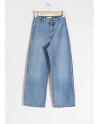 & Other Stories Organic Cotton Wide Jeans