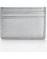 Stradivarius - Card Holder With Topstitching Detail - Lyst