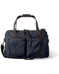 Filson - 48 Hour Tin Cloth Duffle Bag - Navy - Lyst
