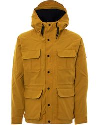 Penfield - Kasson Hooded Mountain Parka - Yellow - Lyst