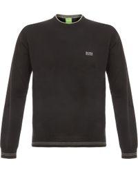 BOSS Green | Rimes Knitwear Black | Lyst