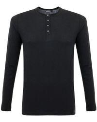 Matíníque - Bruce Black Henley T-shirt - Lyst