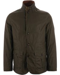Barbour - Lightweight Sander Waxed Cotton Jacket - Olive - Lyst