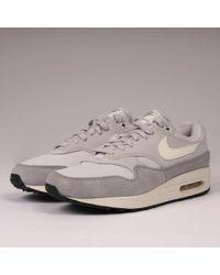 quality design 33b6b 5f48b Nike - Air Max 1 - Vast Grey, Sail   Wolf Grey - Lyst
