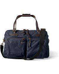 Filson - 48 Hour Navy Duffle Bag 11070328 - Lyst