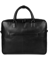 Sandqvist - Black Dag Leather Briefcase - Lyst