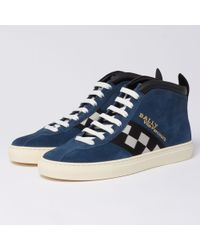 Bally - Vita Parcours Trainers - Ocean - Lyst