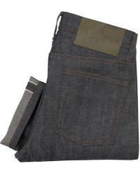 Naked & Famous - Naked And Famous Weird Guy Hemp Blend Selvedge Denim Jeans - Lyst