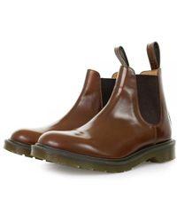 Dr. Martens - Dr Martens Graeme Tan Boanil Brush Boots - Lyst