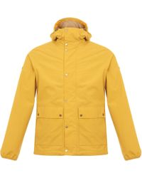 Barbour - Weir Yellow Jacket - Lyst