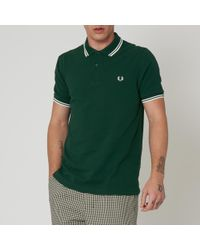 aa31af43e Lyst - Fred Perry Authentic Fred Perry M3600 Grey Marl Twin Tipped ...