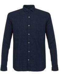 Oliver Spencer | Clerkenwell Tab Kildale Indigo Shirt | Lyst
