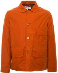 YMC - House Waxed Coat - Orange - Lyst