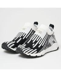 37f2aa0fc35d54 adidas Originals - Eqt Support Sock Primeknit - Ftwr White