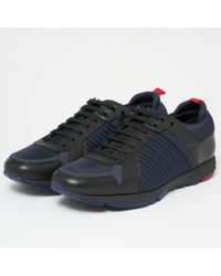 HUGO Boss Hybrid Runn Dark Blue Shoes