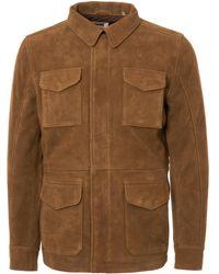 Schott Nyc - Lcfieldon Safari Jacket - Rust - Lyst
