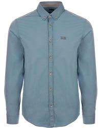 BOSS - Biado Shirt - Aqua - Lyst