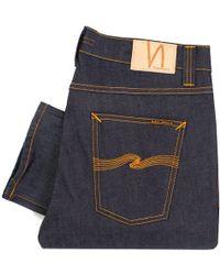 Nudie Jeans - Lean Dean Dry 16 Dips Denim Jeans - Lyst
