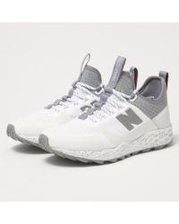 New Balance - Fresh Foam Trailbuster White Trainer Mfltbdwt - Lyst