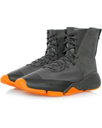 Y-3 - Future Zip High Chamel Boot - Lyst