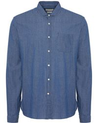Oliver Spencer - Indigo Eton Shirt - Lyst