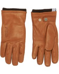 Norse Projects - Tobacco Utsjo Gloves - Lyst