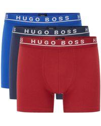 BOSS - Multicoloured Stretch Cotton Boxers - - Lyst