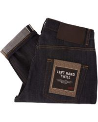 Naked & Famous Easy Guy Left Hand Twill Selvedge Jeans - Indigo - Blue