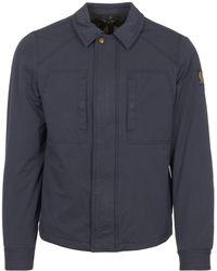 Belstaff - Navy Thorncroft Shirt Jacket - Lyst